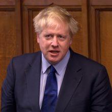 B. Johnsonas patvirtino sieksiantis tapti Didžiosios Britanijos premjeru