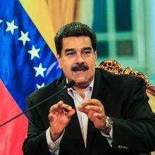 Rusijos žiniasklaida: N. Maduro pritars pirmalaikiams Venesuelos parlamento rinkimams