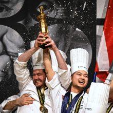 """""""Gastronomijos pasaulio čempionatą"""" laimėjo virtuvės šefas iš Danijos"""