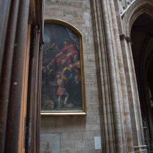 Ministras: Paryžiaus Dievo Motinos katedros paveikslai bus nukabinti ir išvežti