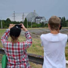Pradedamas naudoti naujas Černobylio gaubtas – turėtų saugoti reaktorių šimtmetį
