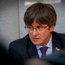 Buvęs Katalonijos prezidentas pasidavė Belgijos pareigūnams