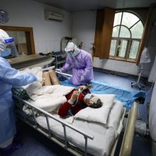 Gazos Ruože patvirtinti du pirmieji užsikrėtimo koronavirusu atvejai