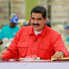 N. Maduro: ES sankcijos mums kelia juoką