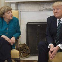 A. Merkel: prekybos susitarimas su JAV – egzistencinės svarbos klausimas