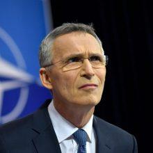 J. Stoltenbergas: NATO nenori naujo Šaltojo karo