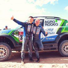 Antrasis Dakaro ralio etapas: V. Žalos komanda finišą pasiekė 11-oje pozicijoje