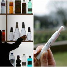 Akcizų didinimas: pavasarį pasitiksime brangesniu alkoholiu ir cigaretėmis