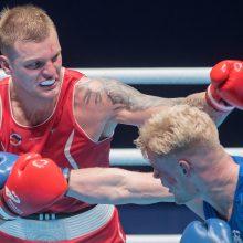 Lietuvio boksininko pergalė kariškių žaidynėse