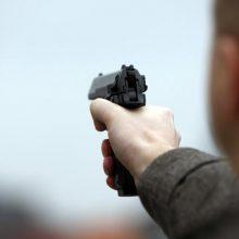Incidentas Vilniuje: girtas vyras grasino nelegaliai laikomu dujiniu pistoletu