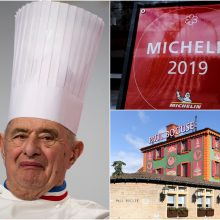 "Virtuvės ""popiežiumi"" praminto šefo restoranas neteko trečios ""Michelin"" žvaigždutės"