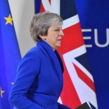 Didžiosios Britanijos premjerė Th. May paskelbė atsistatydinimo datą