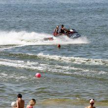 Rengiamasi įtemptai vasarai: Klaipėdoje prasidėjo gelbėtojų atranka