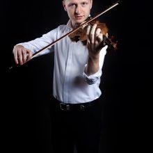 Smuikininkas K.Levickis.