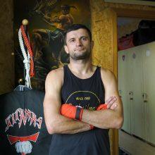 Kaunietis kovotojas V. Valančius grįžta: pasiilgau ringo ir jo teikiamo adrenalino