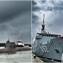 Klaipėdoje lankosi trys Vokietijos karo laivai