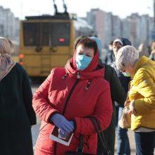 Ukrainoje – rekordinis naujų COVID-19 atvejų skaičius, 51 žmogus mirė