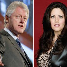 M. Lewinsky prodiusuos serialą apie savo meilės romaną su B. Clintonu