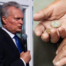 Seimas priėmė svarstyti prezidento pateiktus mokestinius siūlymus