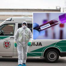 Užsikrėtė ir policininkai: koronavirusas nustatytas dviem Klaipėdos pareigūnams