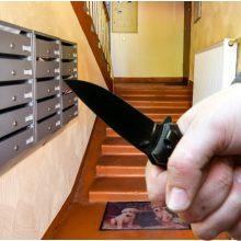 Klaipėdoje peiliu sužalotas vyras: nepažįstamasis nelaimėlį užpuolė laiptinėje