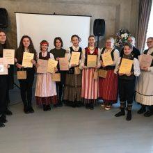 Klaipėdiečiai rungsis Lietuvos mokinių etninės kultūros olimpiadoje