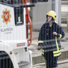 Gaisre Šilutės rajone žuvo žmogus