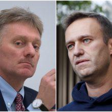 D. Peskovas: Kremlius džiaugtųsi A. Navalno sugrįžimu į Rusiją