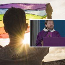 Po kontroversiškų pareiškimų apie LGBT – prokuroro nutarimas: vienuolis nebus teisiamas