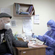 Ukrainoje – per 2,9 tūkst. naujų COVID-19 atvejų, 53 žmonės mirė