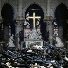 Paryžiaus Dievo Motinos katedroje savaitgalį bus aukojamos mišios