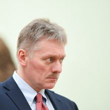 D. Peskovas: tęsiamas darbas dėl didelio apsikeitimo sulaikytaisiais su Ukraina