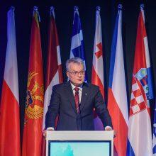 G. Nausėda: JAV ir Europos dialogas energetikoje svarbus Baltijos šalims