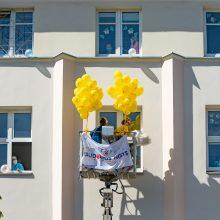 Vaikų gynimo dieną – siurprizas Klaipėdos mažiesiems ligoninės pacientams