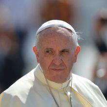 Popiežius Pranciškus pakeitė Bažnyčios poziciją dėl mirties bausmės