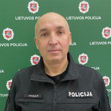 Klaipėdos rajono policijai vadovaus R. Stasiulis