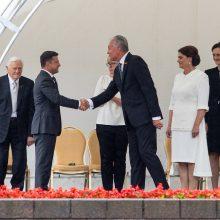 V. Zelenskis: Ukraina jaučia išskirtinę Lietuvos Valstybės dienos reikšmę