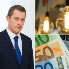 Niūrios ministro prognozės: gyventojams gerokai brangs elektra
