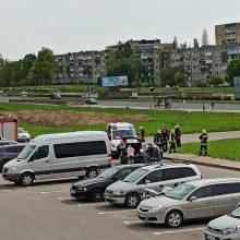 Po pralieto kraujo vienoje Klaipėdos gatvelėje – eismo pokyčiai