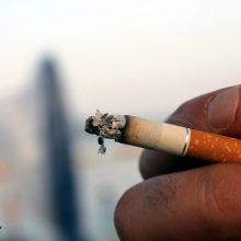 Rūkaliams nereikia daryti jokių nuolaidų