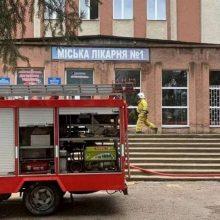 Ukrainoje per sprogimą koronaviruso ligoninėje žuvo vienas žmogus