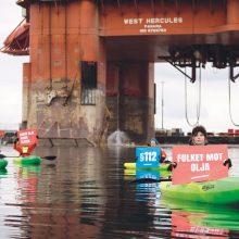 """Norvegija gali tapti """"Greenpeace"""" taikiniu"""