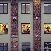 Klaipėdos kultūros fabriko languose – gyvas šokis ir teatras