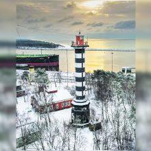 Visuomenei planuojama atverti Klaipėdos švyturį