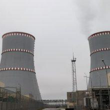 Baltarusija neigia Lietuvos pareiškimus, kad Astrave buvo išjungtos radiacijos stotys