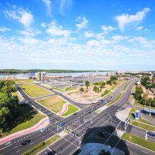 Autotransporto srautams reguliuoti – CKT pervežimo alternatyvos ir naujovės