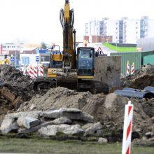 Estakadoje Baltijos prospekte – neplanuoti darbai