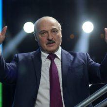 Baltarusijos URM pranešė iki minimumo mažinanti Lietuvos atstovybę Minske