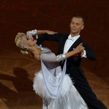 Kokius šokius šokėjai šoks pasaulio standartinių sportinių šokių čempionate Vilniuje?
