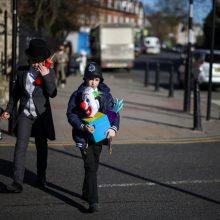Visiems JK vaikams bus skirti nemokami COVID-19 tyrimo rinkiniai
